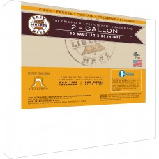 "2 Gallon bags 12"" x 20"" - 100 Pack, Formerly: Chicken Bags"